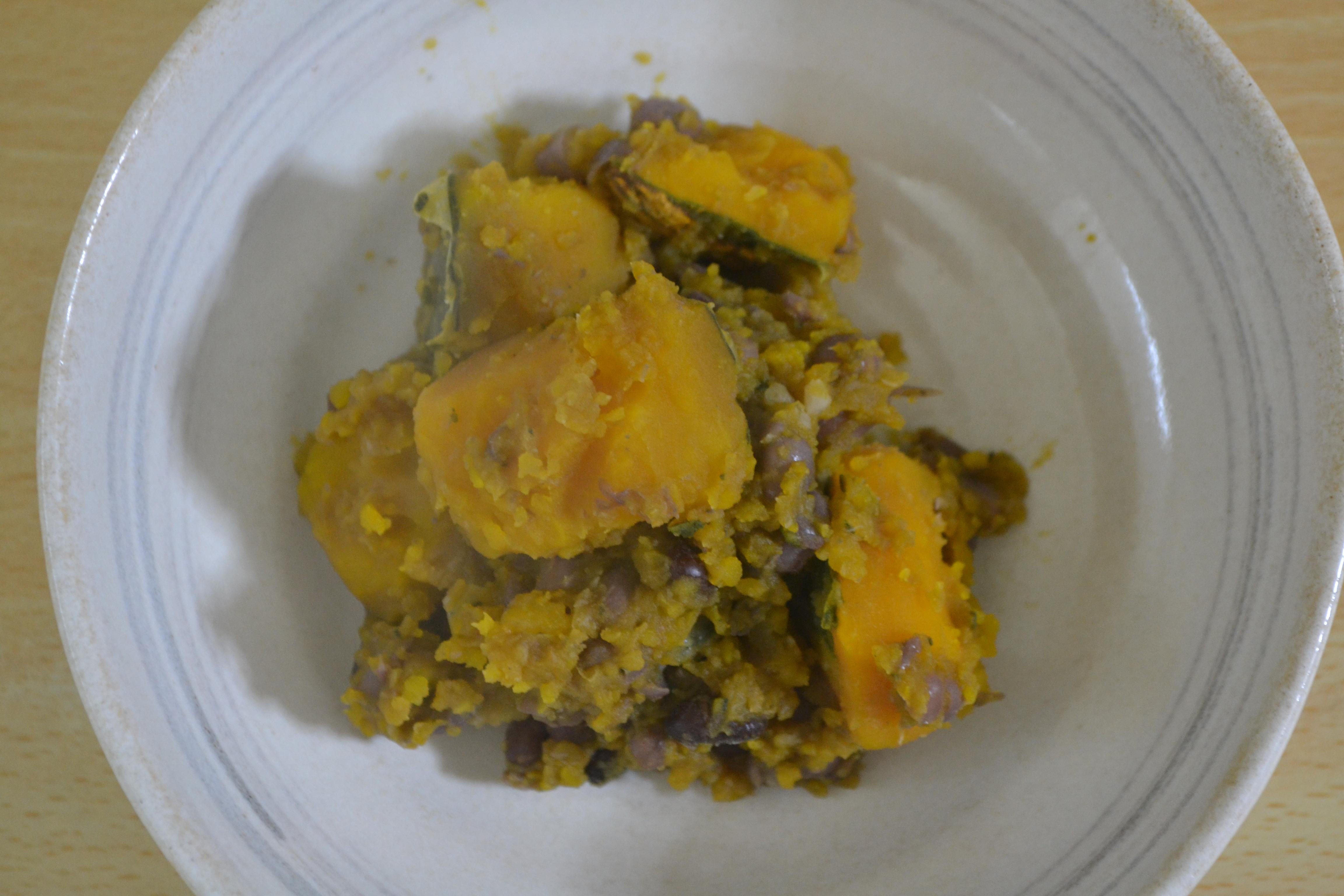 【常備菜】 重ね煮小豆かぼちゃを作って美味しかったけど、なんか物足りなかったです!