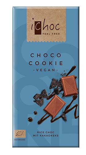 iChocオーガニックライスミルクチョコレート チョコクッキー