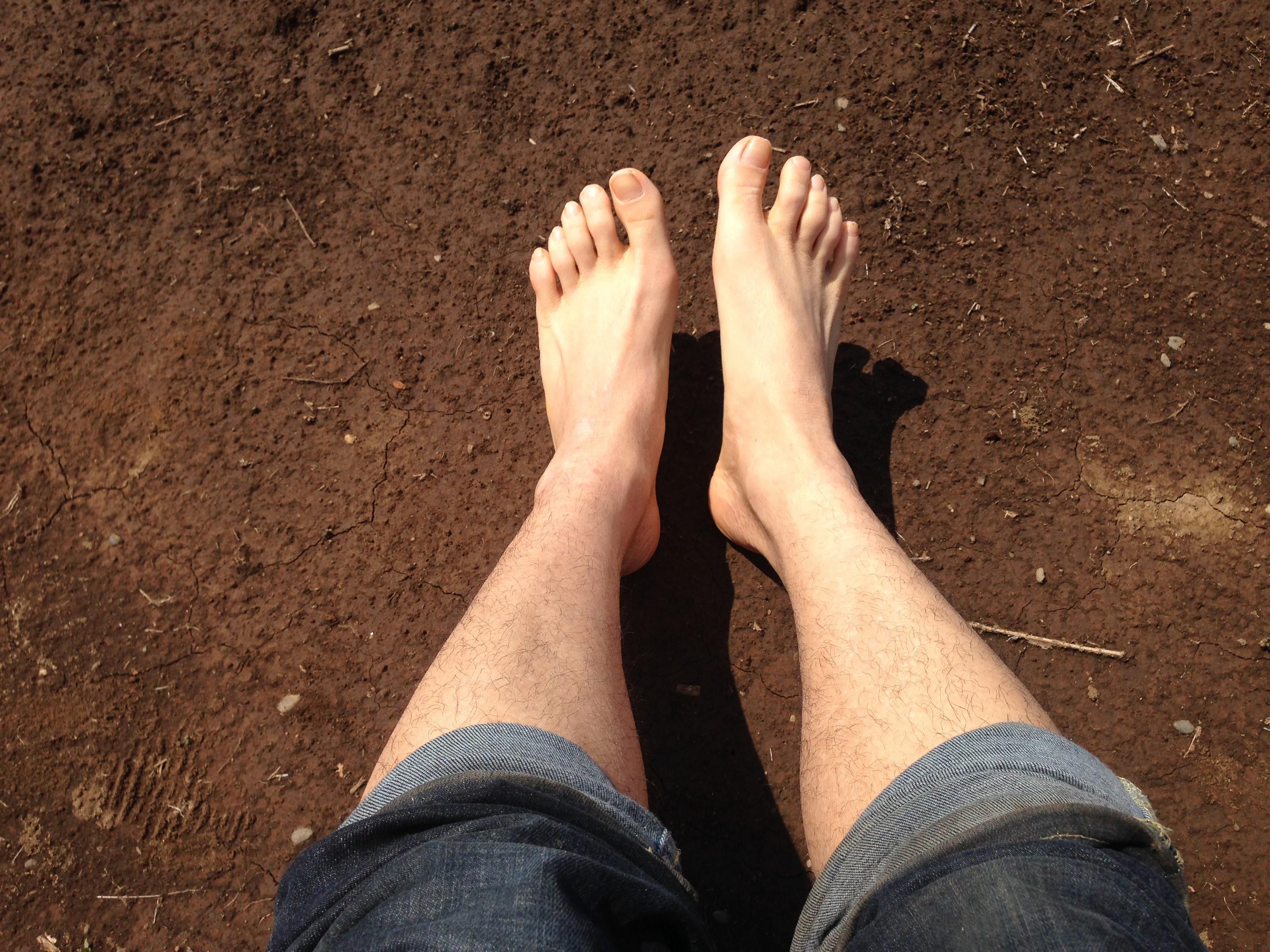 農家の特権!畑で裸足になると気持ち良すぎます!【無肥料自然栽培農家 明石農園 研修34,35日目(2016年3月31日、4月1日)】