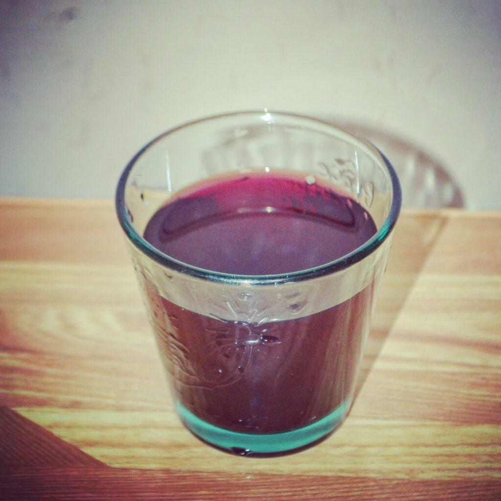 赤しそジュース 赤紫蘇