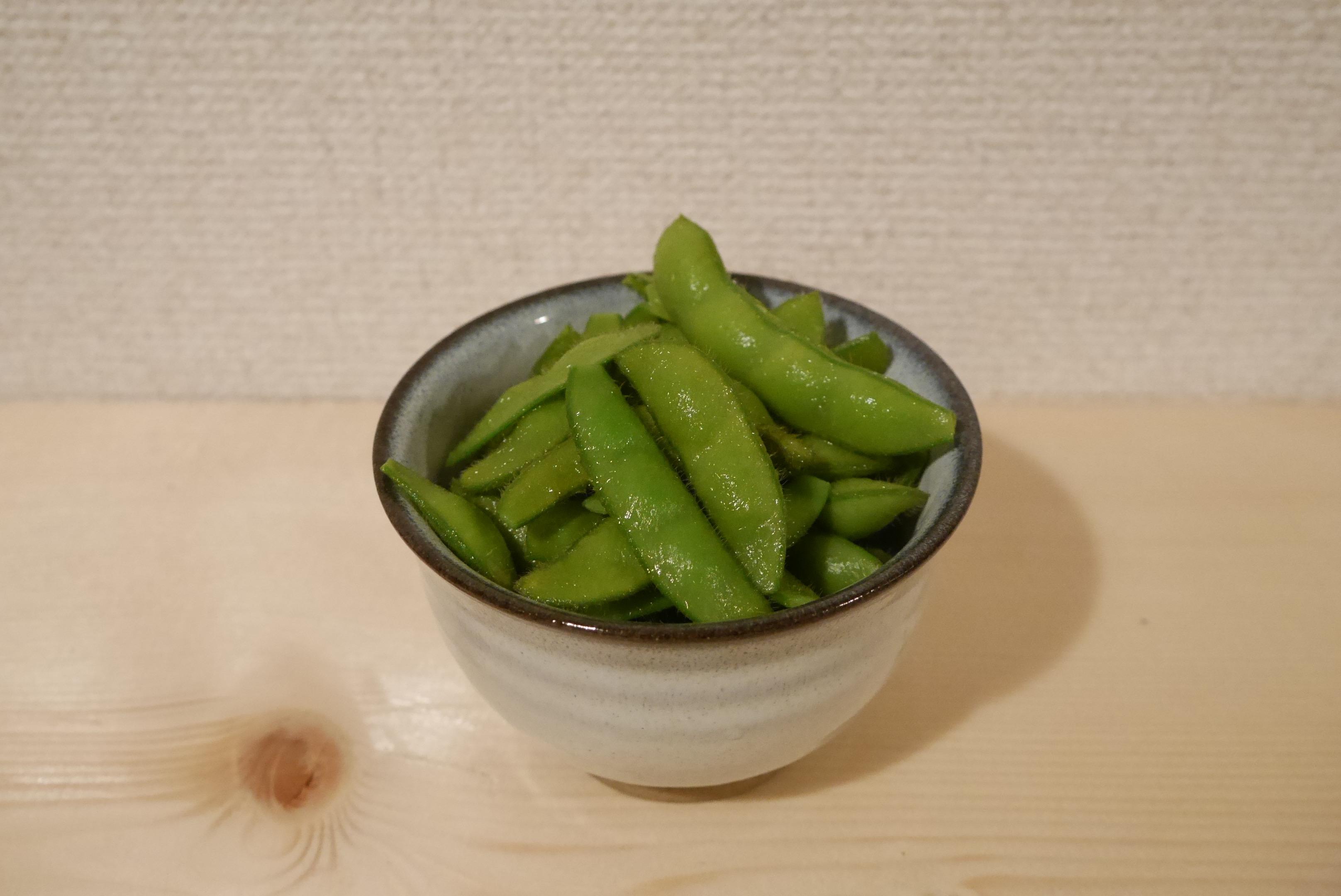 枝豆が超うまいです〜♪