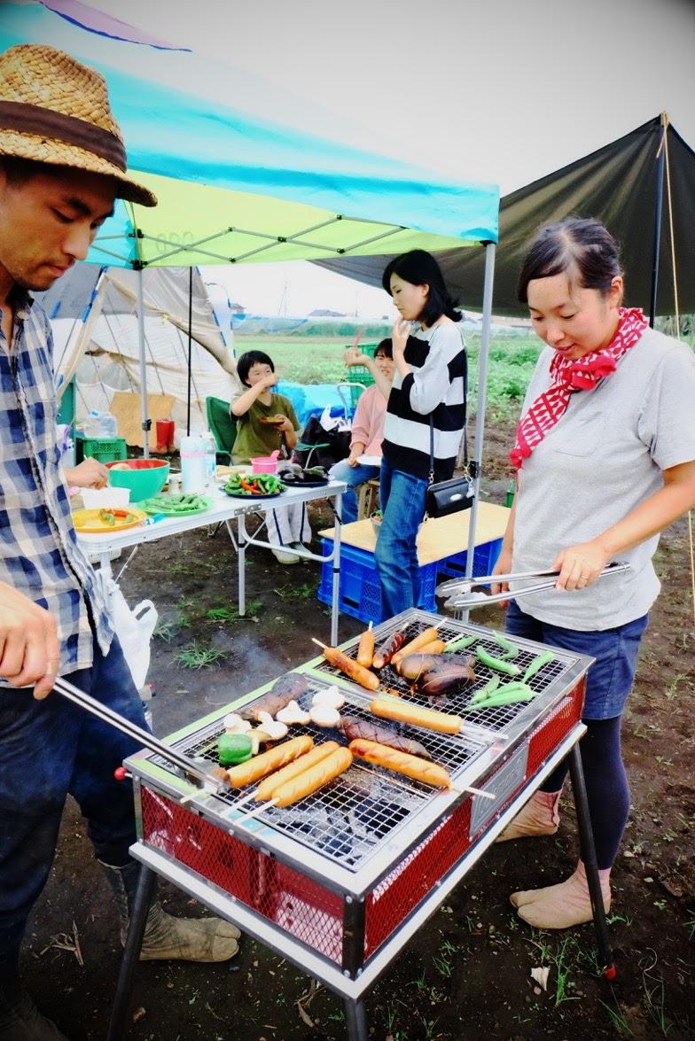 採れたて野菜の農園BBQやるよ〜♪(8月11日)