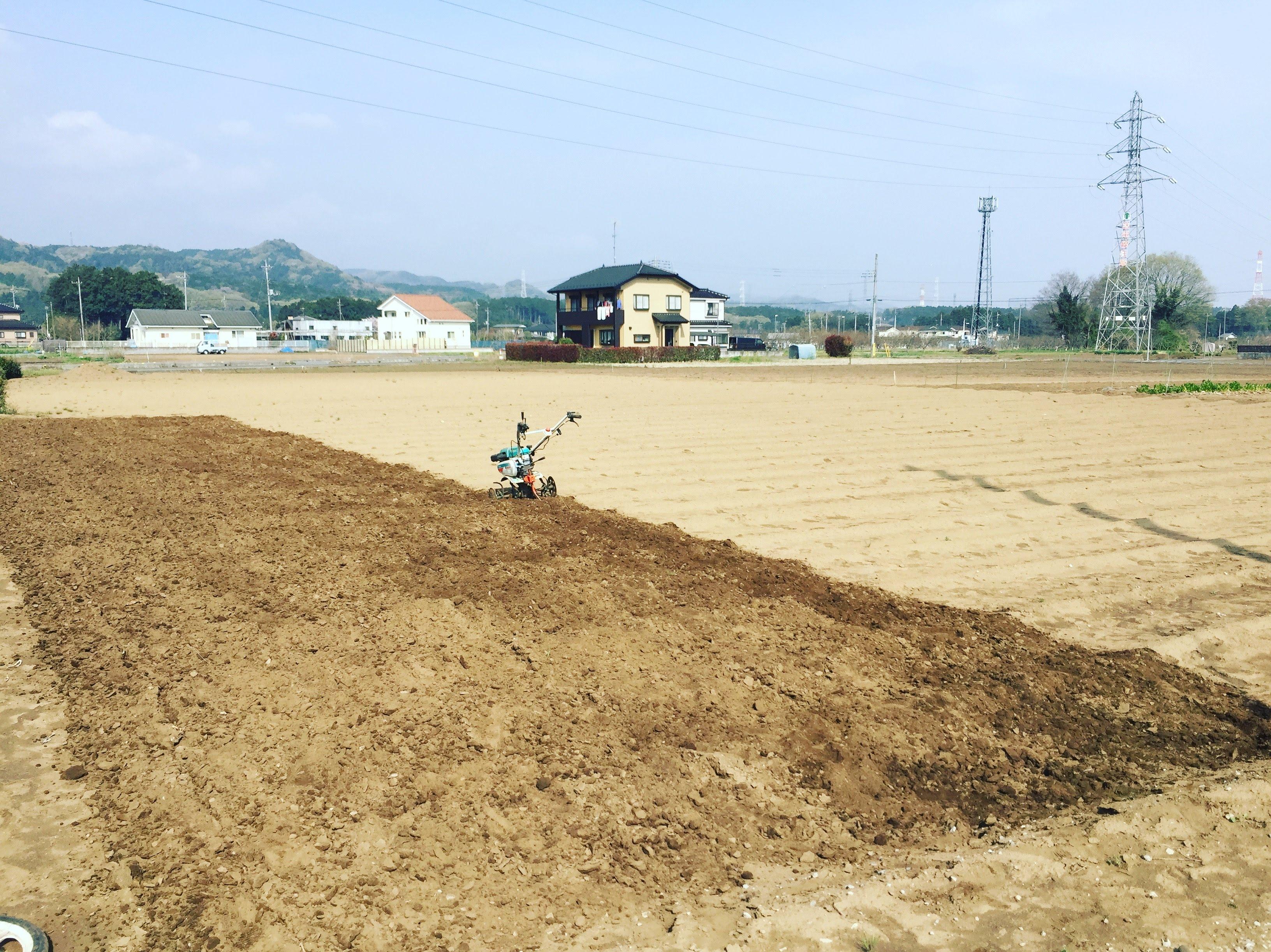 新しい畑は「原ノ上の畑」で!