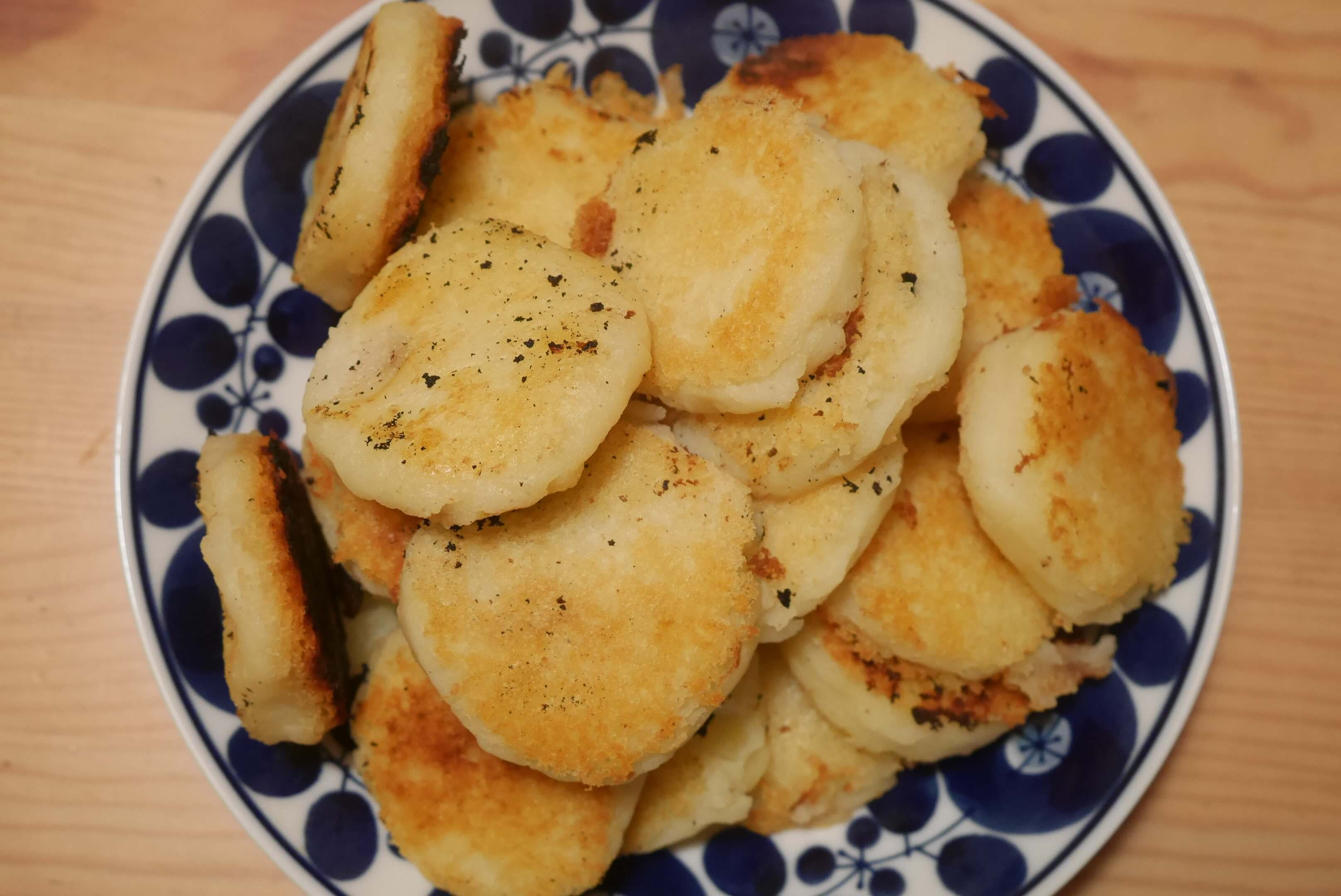 簡単!自然栽培じゃがいもの大量消費レシピ♪もっちもちチーズポテトがオススメです!