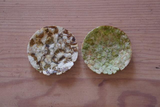 緑豆&グリーンピースチップス